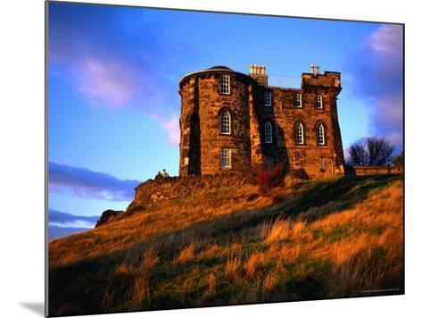 Exterior of City Observatory on Calton Hill, Edinburgh, United Kingdom-Jonathan Smith-Mounted Photographic Print