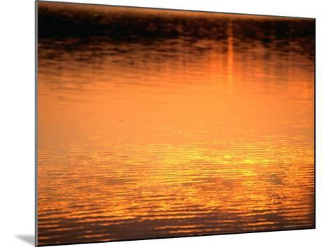 Evening Reflections on Lake Itasca, Itasca State Park, USA-John Elk III-Mounted Photographic Print