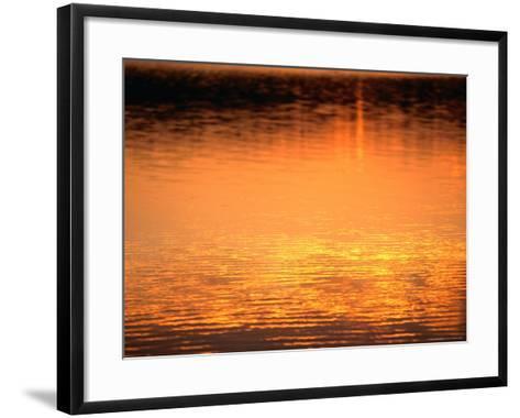 Evening Reflections on Lake Itasca, Itasca State Park, USA-John Elk III-Framed Art Print
