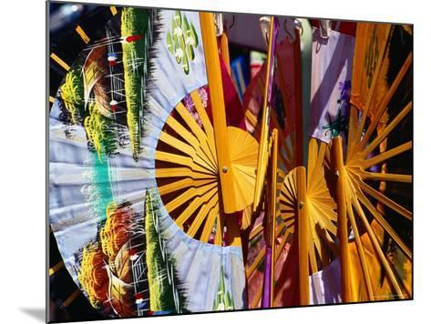 Decorative Fans in Chinatown, Singapore-Richard I'Anson-Mounted Photographic Print