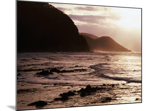 Looking Towards Mount Defiance Lookout, South of Lorne on the Great Ocean Road, Lorne, Australia-Rodney Hyett-Mounted Photographic Print