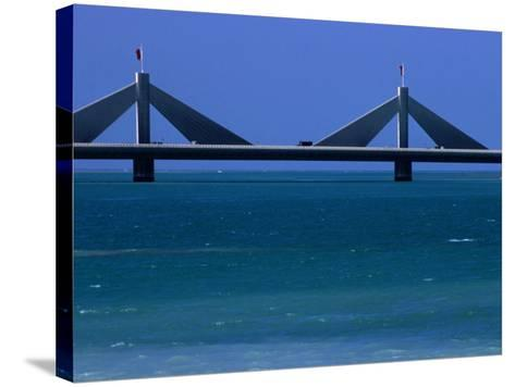 Sheikh Isa Bin Sulman Causeway Manama, Al Manamah, Bahrain-Phil Weymouth-Stretched Canvas Print