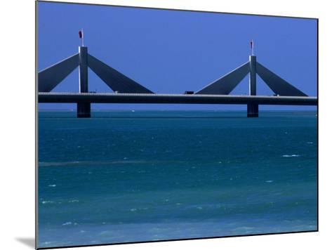 Sheikh Isa Bin Sulman Causeway Manama, Al Manamah, Bahrain-Phil Weymouth-Mounted Photographic Print