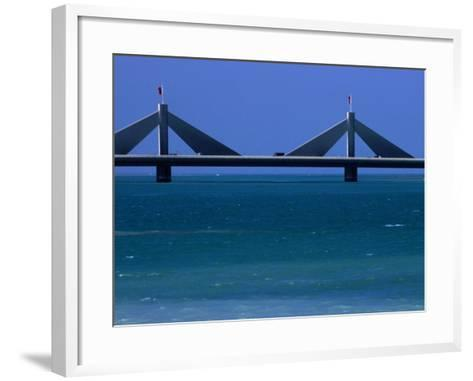 Sheikh Isa Bin Sulman Causeway Manama, Al Manamah, Bahrain-Phil Weymouth-Framed Art Print