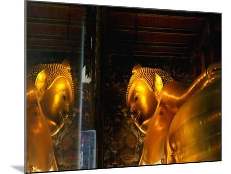 Reclining Buddha at Wat Pho, Bangkok, Thailand-Ryan Fox-Mounted Photographic Print