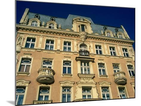 Facade of Art-Nouveau Building, Lodz, Lodzkie, Poland-Krzysztof Dydynski-Mounted Photographic Print