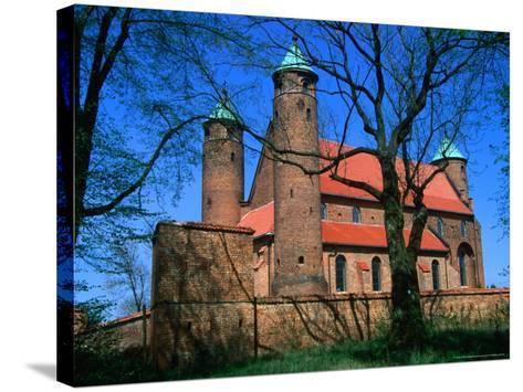 Fortified Church of St. Rocco, Brochow, Mazowieckie, Poland-Krzysztof Dydynski-Stretched Canvas Print