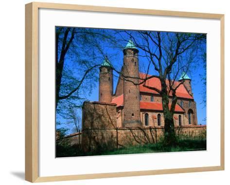 Fortified Church of St. Rocco, Brochow, Mazowieckie, Poland-Krzysztof Dydynski-Framed Art Print