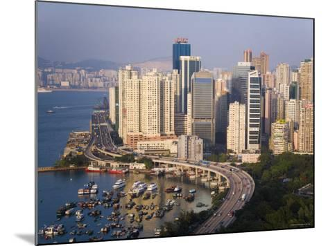 Asia, Hong Kong, Causeway Bay, High Rise Apartment Buildings-Gavin Hellier-Mounted Photographic Print