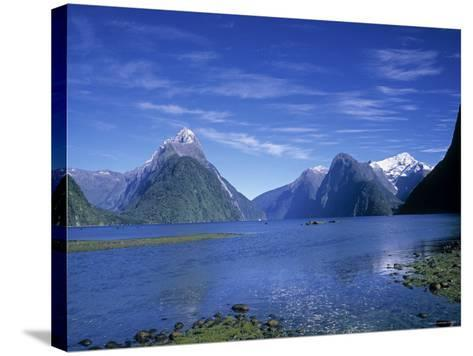 Milford Sound, Fjordland, South Island, New Zealand-Jon Arnold-Stretched Canvas Print