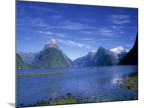 Milford Sound, Fjordland, South Island, New Zealand-Jon Arnold-Mounted Photographic Print