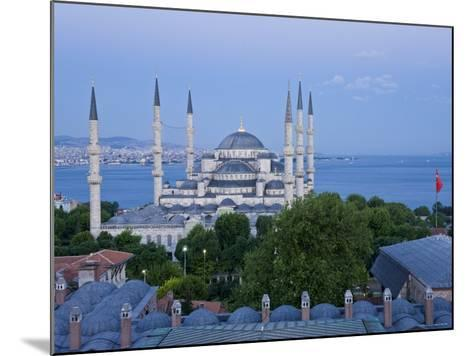 Blue Mosque, Sultanahmet, Istanbul, Turkey-Gavin Hellier-Mounted Photographic Print
