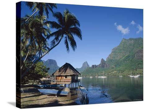 Cook's Bay, Moorea, French Polynesia, South Pacific, Tahiti-Steve Vidler-Stretched Canvas Print