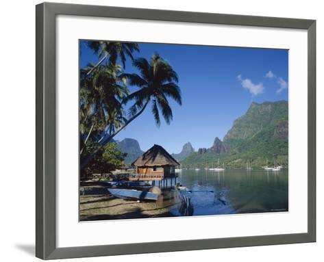 Cook's Bay, Moorea, French Polynesia, South Pacific, Tahiti-Steve Vidler-Framed Art Print