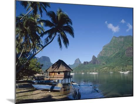 Cook's Bay, Moorea, French Polynesia, South Pacific, Tahiti-Steve Vidler-Mounted Photographic Print