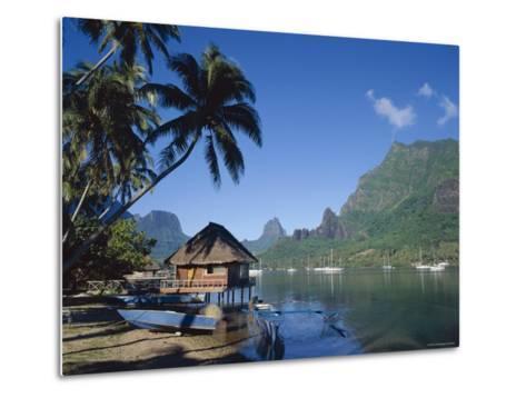 Cook's Bay, Moorea, French Polynesia, South Pacific, Tahiti-Steve Vidler-Metal Print