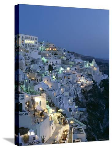 Thira, Santorini , Cyclades Islands, Greece-Steve Vidler-Stretched Canvas Print