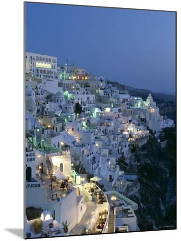 Thira, Santorini , Cyclades Islands, Greece-Steve Vidler-Mounted Photographic Print