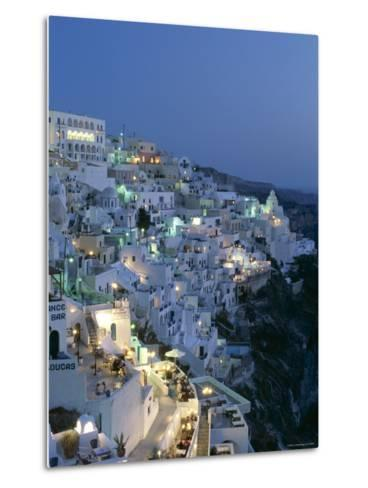 Thira, Santorini , Cyclades Islands, Greece-Steve Vidler-Metal Print