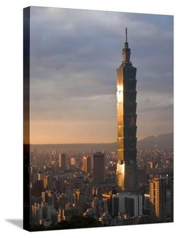 Taipei 101, Taipei, Taiwan-Michele Falzone-Stretched Canvas Print