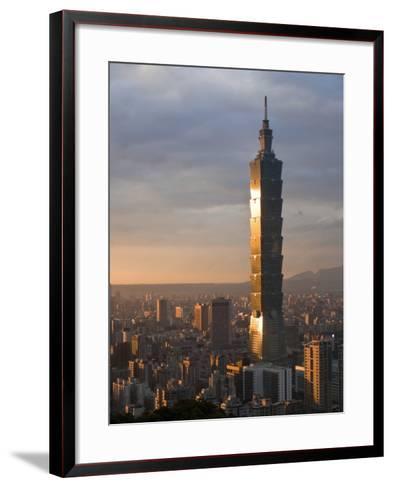 Taipei 101, Taipei, Taiwan-Michele Falzone-Framed Art Print