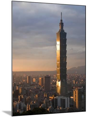 Taipei 101, Taipei, Taiwan-Michele Falzone-Mounted Photographic Print