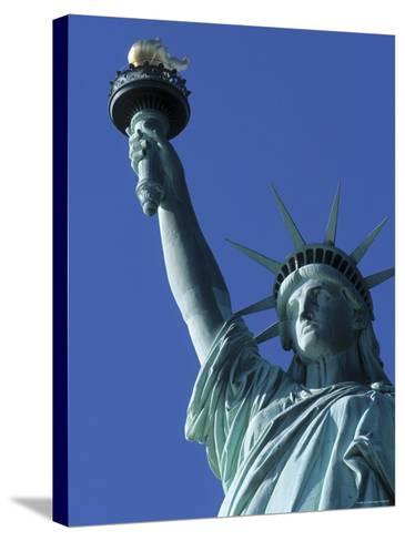 Statue of Liberty, New York City, USA-Jon Arnold-Stretched Canvas Print