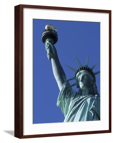 Statue of Liberty, New York City, USA-Jon Arnold-Framed Art Print