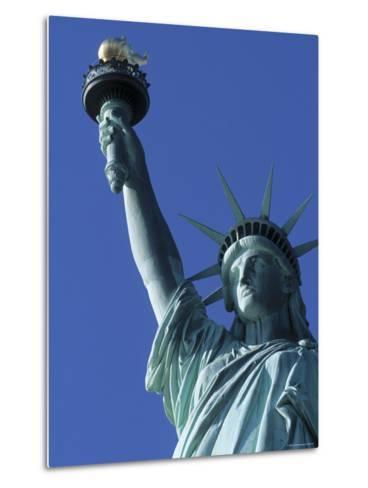 Statue of Liberty, New York City, USA-Jon Arnold-Metal Print