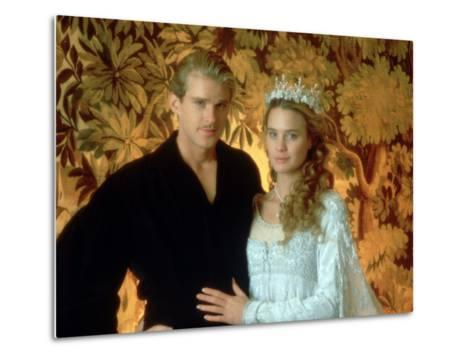 Westley and Buttercup Portrait--Metal Print