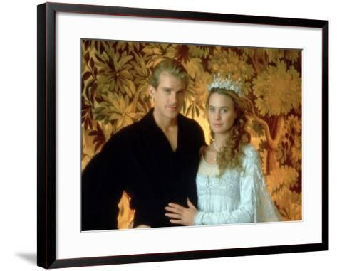 Westley and Buttercup Portrait--Framed Art Print