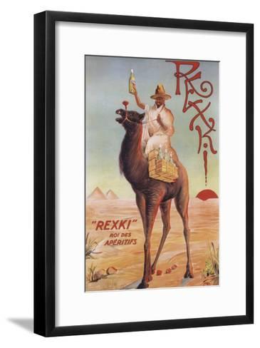 France - Rexki-Lantern Press-Framed Art Print