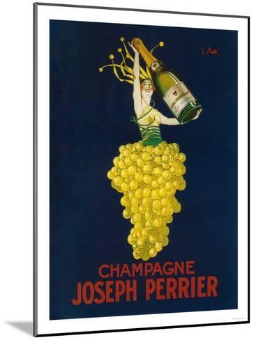 France - Joseph Perrier Champagne Promotional Poster-Lantern Press-Mounted Art Print