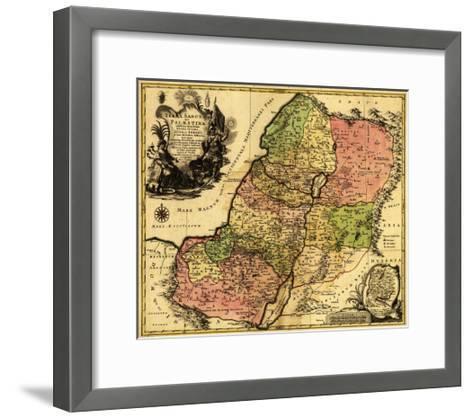 Palestine - Panoramic Map Art Print by Lantern Press | the NEW Art.com