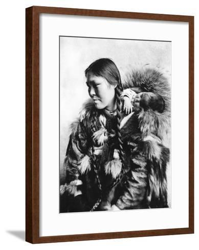 eskimo mother and child in alaska photograph alaska art print by
