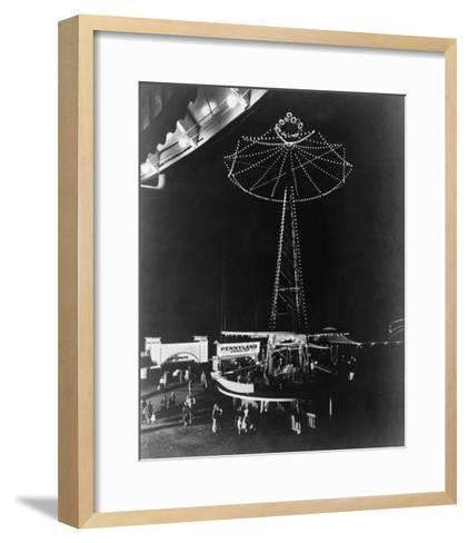 Glen Echo Amusement Park in Maryland Photograph - Maryland-Lantern Press-Framed Art Print