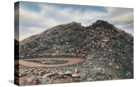 Mt. Evans, Colorado Summit View - Mt. Evans, CO-Lantern Press-Stretched Canvas Print