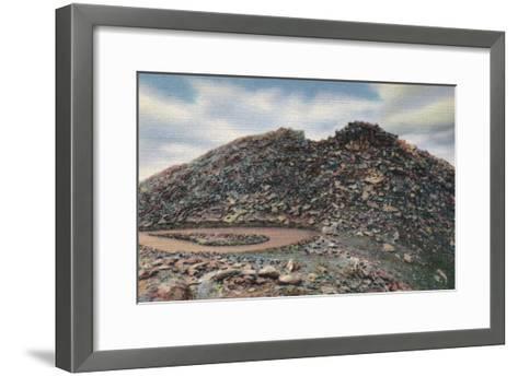 Mt. Evans, Colorado Summit View - Mt. Evans, CO-Lantern Press-Framed Art Print