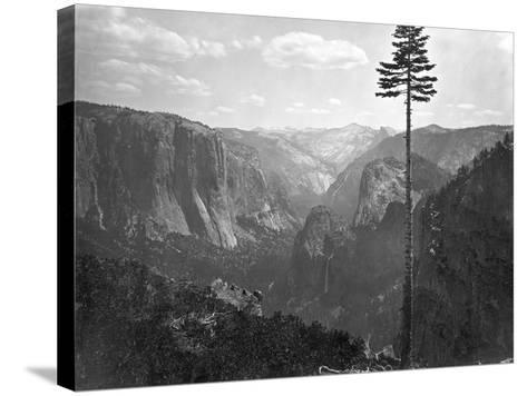 Yosemite National Park, Yosemite Valley Photograph - Yosemite, CA-Lantern Press-Stretched Canvas Print