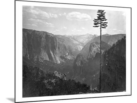 Yosemite National Park, Yosemite Valley Photograph - Yosemite, CA-Lantern Press-Mounted Art Print