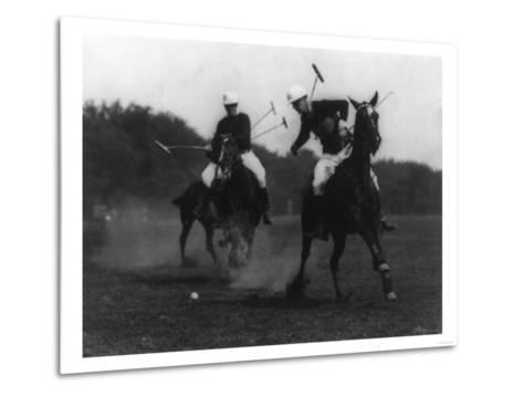 War Department Polo Association Match Photograph - Washington, DC-Lantern Press-Metal Print