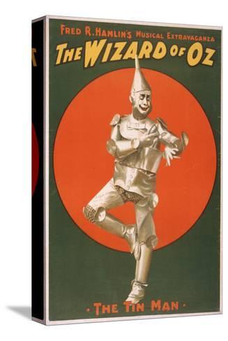 """""""The Wizard of Oz"""" Musical Theatre Poster No.2-Lantern Press-Stretched Canvas Print"""