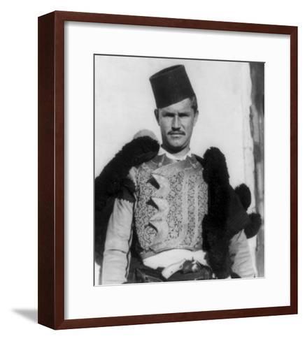 "Albanian Shkypetars ""Men of the Eagle"" Photograph - Albania-Lantern Press-Framed Art Print"