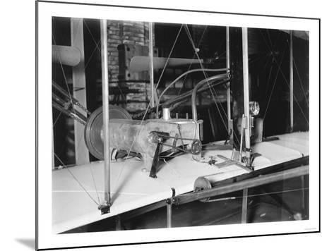 1903 Plane Motor from Wright Brothers' Shop Photograph-Lantern Press-Mounted Art Print