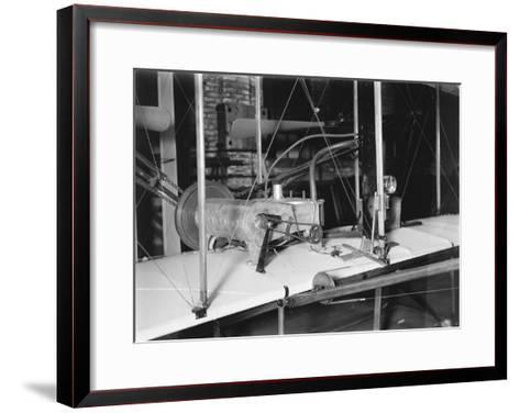 1903 Plane Motor from Wright Brothers' Shop Photograph-Lantern Press-Framed Art Print