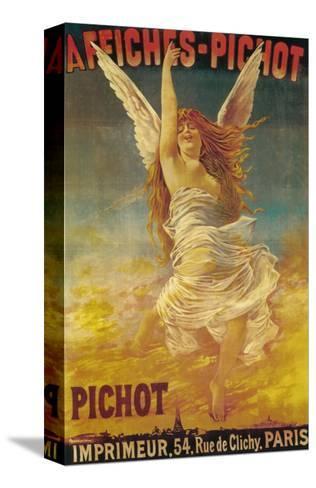 Affiches-Pichot Promotional Poster - Paris, France-Lantern Press-Stretched Canvas Print