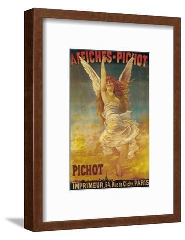 Affiches-Pichot Promotional Poster - Paris, France-Lantern Press-Framed Art Print