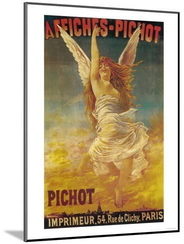 Affiches-Pichot Promotional Poster - Paris, France-Lantern Press-Mounted Art Print
