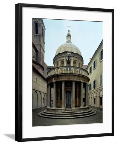 The Tempietto, 1508-12-Donato Bramante-Framed Art Print