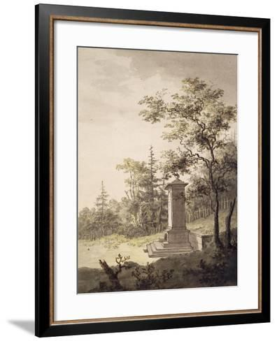 Emilias Kilde, 1797-Caspar David Friedrich-Framed Art Print